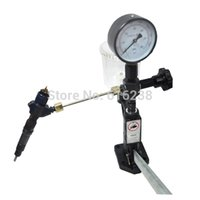 diesel injector nozzle - Top quality Common rail injector tester Diesel Injector Nozzle Tester Pop Pressure Tester Dual Scale BAR PSI Gauge