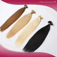 Cheap Brazilian Virgin Hair Best Flat tip Extensions