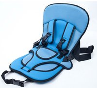 children car booster seat - Red Blue Portable Baby Kids Infant Children Car Safety Booster Seat Cover Cushion chair Auto Harness Carrier