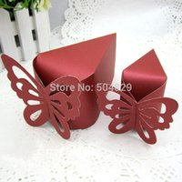 Wholesale wholesale3000 Butterfly wedding party gifts candy box gift bag BX