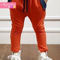 Wholesale Children s clothing new Korean models fall cotton boy big boy pants PP trousers