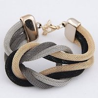 beaded metal watch - 2015 Watch Bijoux Bangles Selling Hot Sale One Direction Men Jewelry High end Fashion Personalized Retro Metal Multilayer Woven Bracelet