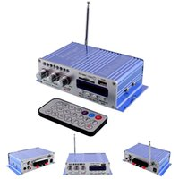Wholesale HY502 Car Truck Motorcycle Power Amplifier Loudspeaker Support MP3 SD USB Audio Remote Durable Player