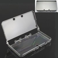 3ds xl - Clear Crystal Hard Protective Cover Case Shell Skin For New Nintendo DS XL LL