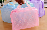 bathroom travel bags - Waterproof Transparent Bag Bathroom Shower Pouch Portable Travel Cosmetic Bag Toiletries Organizer Bag