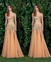 basil pictures - Basil Soda Yellow Evening Dresses Sexy Strapless Sequins Beaded Backless Prom Dresses Custom Made Floor Length Formal Party Dresses