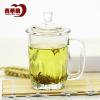 apple office products - Green Apple product is still glass with the heat resistant glass lid cup cups office cup gifts Cup Specials