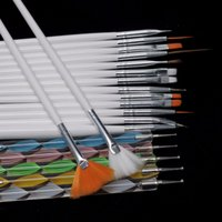 Wholesale Fashion Nail Brush Nail Art Design Painting Dotting Detailing Pen Brushes Bundle Tool Kit Set Nail styling tools