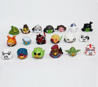 Wholesale 50PCS capsule bird toys cm Anime action figure pvc dolls Home decoration kids favorate puppets baby birthday gift send at random