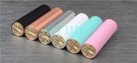 Wholesale Original WOTOFO SMPL Mod E Cigarette Full Machanical Mods white black ss blue brass red copper battery body Clone SMPL Mods by DHL