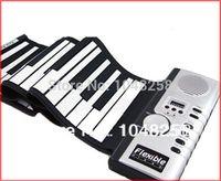 Wholesale 61 Key Keys USB Silicon Flexible Roll Up Electronic Piano MIDI Keyboard Musical Instrument Portable Electronic Organ Spain