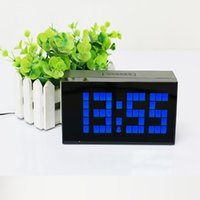 antique kitchen table - Led Digital Kitchen Wall Clock Table Desk Alarm Watch Modern Art Home Decor Gift MZS0005