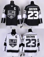 angels king - 30 Teams Excellent Stadium Series Los Angels Kings Jerseys Dustin Brown Jersey black white LA Kings Ice Hockey Jerseys