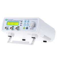 Wholesale DHL MSa s MHz High Precision Digital DDS Dual channel Signal Source Generator Tester Arbitrary Waveform Frequency Meter L0009