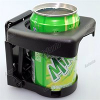 Wholesale cup holder New Universal Black Car Folding Beverage Automotive Seat Frame Cup Holder