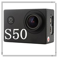 Wholesale S50 MP inch TFT LCD º degree wide angle Sport Action Camera Sport DV USB HDMI SD Card GB m Waterproof Battery mAh