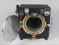 Cheap 2015 New Mini High Pressure Autoclave OCA Adhesive Sticker LCD Bubble Remove Machine Black for Touch Screen Glass Refurbishment