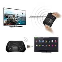 Wholesale MEASY GP800 USB Wireless Remote Air Mouse Touchpad Keyboard For Pad Smart TV Box