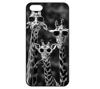 hard case sunglasses - Sunglasses Giraffe Funny Design Hard Plastic Mobile Phone Case Cover For iPhone S S C plus
