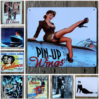 tin sign - hot fashion cm world famous movie film stars poster tin sign Coffee Shop Bar Restaurant Wall Art decoration Bar Metal Paintings
