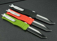 color knife set - 2015 quot Small microtech knife combat troodon a161 pocket knife singel blade fine edge Tanto point knives color handle M
