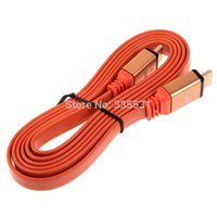 Wholesale FOOT LONG HDMI CABLE P D PS HDTV BLURAY xBOX DVD HD TV orange K5BO