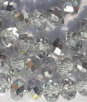 loose beads - 1000PCS mm Silver AB Swarovski Crystal Gemstone Loose Beads A8