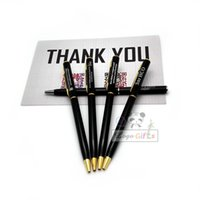 Wholesale HOT thank you gift ideas Parker pens custom with your own text and messages g metal pen is top xmas gift ideas