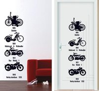 bicycle posters - HOT Bicycle Boy Room Kids Room Nursery Home Decoration Art Decal poster Wall Stickers Home Decor Wall Stickers For Kids Rooms