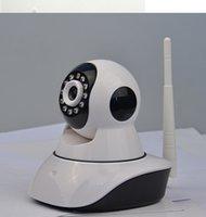 Wholesale 2015 HD Network IP camera Burglar Alarm Household for Toys Store HD Pan Tilt WIFI Alarm System Mini Security CCTV home Alarm