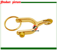 Wholesale horse spur key chain key holders key ring gift giveaways K001G