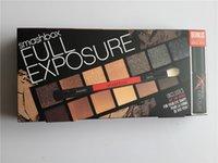 Wholesale Hot New Makeup Smash Box Full Exposure Palette color Eye Shadow Mascara gift