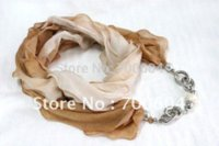 jewelled scarves - new Designed Fashion jewelled ladies shawl pashmina wraps Pendant Necklace Scarves mixed colors factory supply directly M14860