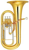 Wholesale Bb Euphonium Three Pistons with ABS case Brass wind Musical instruments Factory Supply OEM