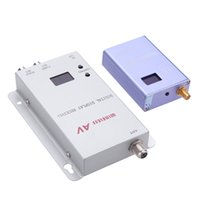 Wholesale NEW MW CH Transmitter Receiver Rom to Room Audio Video Sender for Digital Camera VCD DVD Players with AV Output Port order lt no track