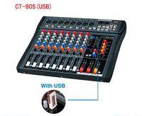 amplifier dj mix - CT S USB di mixer professional amplifier mixer channel stage audio mixer karaoke mixer mixing console mesa dj