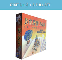 Wholesale Dixit cards KG borad games table card fun family game multiple language instructions