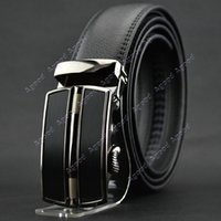 men belt - New arrival Men s Fashion Business Synthetic Leather Belt Automatic Buckle Belt SV004845