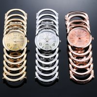 Wholesale Hot sell New fashion explosion models Diamond Luxury Shining Watch Wedding date watch Gold Bracelet Watch