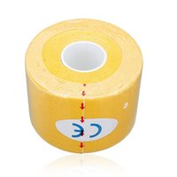 Wholesale IMC Roll Muscles Care Fitness Athletic Health Tape M CM Yellow order lt no track