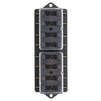 Wholesale 1pcs Way Circuit Automotive Middle sized Blade Standard Fuse Box Block Holder Newest