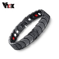 Wholesale Brand new women multi fuction men magnetic bracelet jewelry healthy care carbon bracelets amp bangles for men