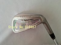 Cheap golf clubs PRO APEX forged irons set 3--9#,PW,AW with dynamic gold steel R300 shaft golf irons 9pcs free headcovers