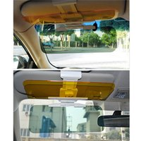 Wholesale 1pc New Arrival Car Sun Visor Goggles For Driver Day And Night Anti dazzle Mirror Automobile Sun shading Block Newest