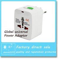 Wholesale US EU UK AU interface Converter Plugs Sockets Universal World Travel AC Power Adaptor Free DHL