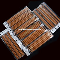 Wholesale Best Price Hot Sales sizes cm Double Point Carbonized Knitting Bamboo Needles set