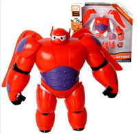 pvc cartoon figure - free HOT New diy assembled BIG HERO BAYMAX MECH cm PVC Cartoon Movies Robot Action Figure Doll fat man large children toy gift