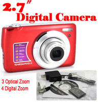 Wholesale by dhl or ems pieces MP x Digital zoom x Optical Camera Inches Anti shake Face Detection digital camera