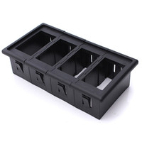 Wholesale 4 x Car Boat Rocker Switch Clip Panel Patrol Holder Housing ARB Carling Type X4
