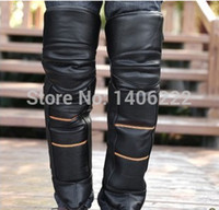 Wholesale Cold Winter Thick Warm motocross Motorcycle Motorbike kneepad Protector Knee joint Waterproof Protective Moto equipamento order lt no track